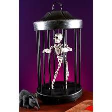 swinging skeleton boy spirit halloween buy shaking skeleton in cage prop