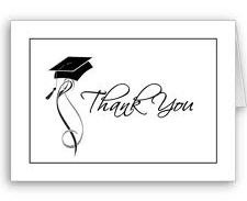 graduation thank you cards thankster custom thank you card tips for writing