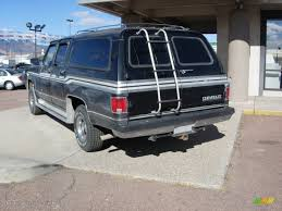 1990 chevy and gmc suburbans onyx black paint color