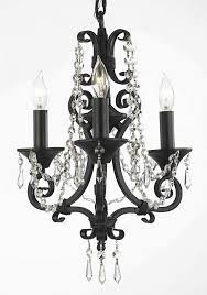 Black Iron Chandeliers Wrought Iron Chandeliers With Crystals Nurani Org
