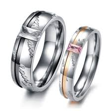 promise ring sets for him and mens promise ring for him wedding set his and 24307 3 jewelry