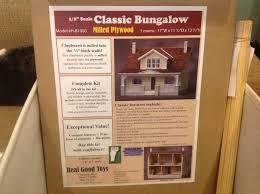 half scale rgt classic bungalow the greenleaf miniature community