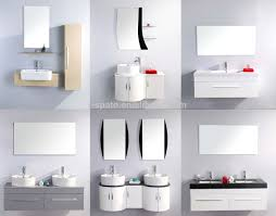mdf u0026 pvc cupboard bathroom wash basin cabinets with cultured