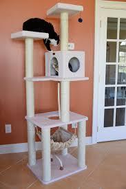 Cat Condos Cheap Amazon Com Armarkat Deluxe Cat Tree Model B7301 Ivory Cat