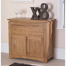 Oak Small Sideboard Crescent Solid Oak Furniture Small Sideboard