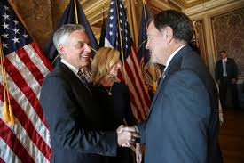 jon huntsman jr promises to encourage travel between russia and