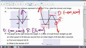 algebra i and ii honors chapter 8 test review period 2 youtube
