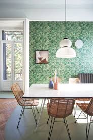 Wallpaper Designs For Dining Room Room Of The Week A Lush U0026 Modern Milan Dining Room Coco