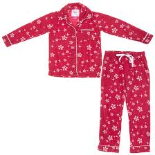 snowflake fleece pajamas for