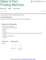 lesson plans for preschool math education com