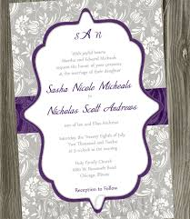 purple wedding invitations pretty purple wedding invitations bitsy