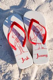 flip flop wedding favors personalized flip flop wedding favors