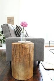 tree stump table base wood stump table tree trunk table with metal legs wood e table with