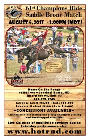 upcoming rodeo information and advanced ticket sales for champions