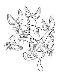 kleurplaat winnie poeh bewegende animatie 0069 pooh