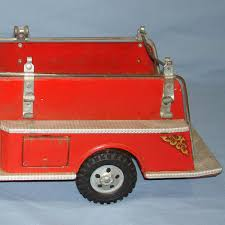 tonka fire truck toy vintage tonka fire department suburban pumper 950 pressed steel
