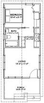 One Bedroom House Floor Plans Excellent Floor Plans 16x30h8 873 Sq Ft Tiny House Living