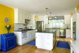 Blue And Yellow Kitchen Curtains Decorating Blue And Yellow Kitchen Yellow Blue Kitchen Decorating Ideas Blue