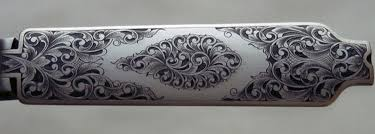 gold inlay engraving thierry duguet engraver engraved winchester md 70 rifle large