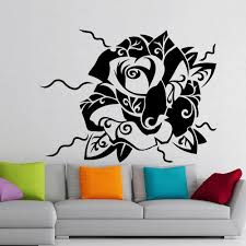 Tattoo Home Decor Online Buy Wholesale Home Wall Tattoo Flower From China Home Wall