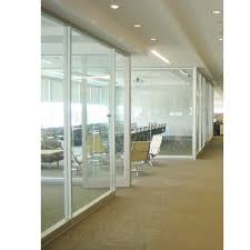 commercial office doors with clear glass panel commercial