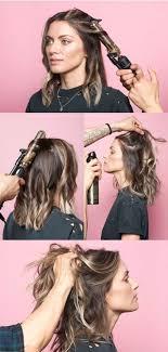 wavy lob haircut tutorial this is the secret to a perfectly messy long bob medium length