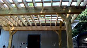 How To Build A Wood Awning Over A Deck Pergola And Deck Built The Right Way Youtube