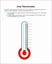 9 Fundraising Thermometer Template Excel Exceltemplates Thermometer For Fundraising Template
