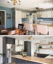 open shelving in kitchen kitchen reveal with dark cabinets and open shelving bigger than
