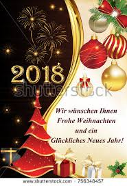 new year wish card 2018 merry christmas happy new year stock illustration 756348457