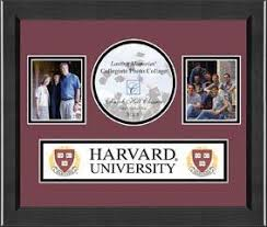 harvard diploma frame harvard lasting memories banner collage photo frame in