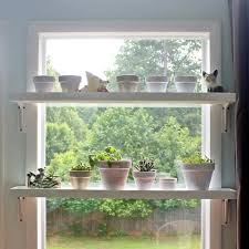 window table for plants add plant shelves to your sunny windows plant shelves sunroom
