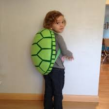 the almost perfectionist homemade turtle costume