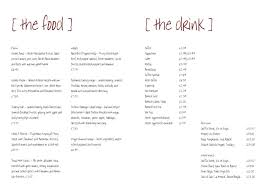 Free Printable Restaurant Menu Template free printable restaurant menu template pertamini co