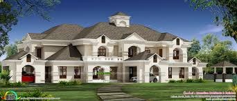 home design sq yd luxury colonial house architecture kerala plans