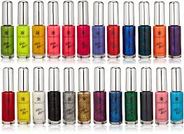 How To Decorate Nails At Home Amazon Com Shany Nail Art Set 24 Famous Colors Nail Art Polish