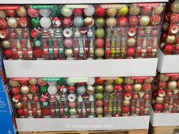 shatter resistant ornaments 50 set with costco