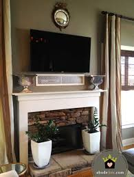 where to put tv tv above fireplace where to put cable box 14 ultimo value is