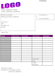 Exles Of Business Invoices by Design Invoice Template 28 Images 6 Professional Invoice