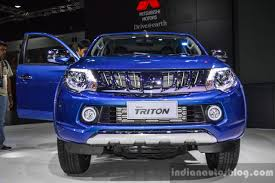 triton mitsubishi 2016 mitsubishi triton limited edition front at 2016 bims indian