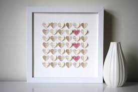 wedding gift from parents parents thank you gift personalized 3d hearts made