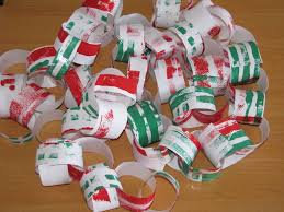 christmas paper chains learning 4 kids