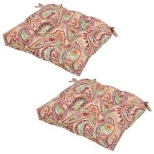 paisley outdoor seat cushions outdoor chair cushions the