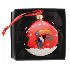 guinness guinness toucan bauble