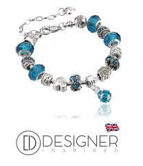 charm bracelet european images Silver snake charm bracelet european murano glass crystal beads 20cm f png