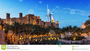 Al Burj by View Of The Hotel Burj Al Arab From Souk Madinat Jumeirah Royalty