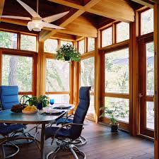 furniture cozy indoor sunroom furniture with parson dining chairs