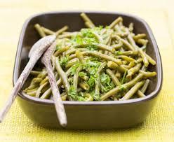 cuisiner haricots beurre salade de haricots verts et sa vinaigrette originale recette de