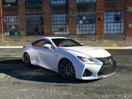lexus rc f review 2015 lexus rc f ny daily