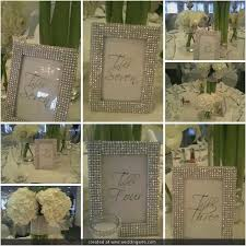 Bling Wedding Decorations For Sale Best 25 Framed Table Numbers Ideas On Pinterest Table Numbers